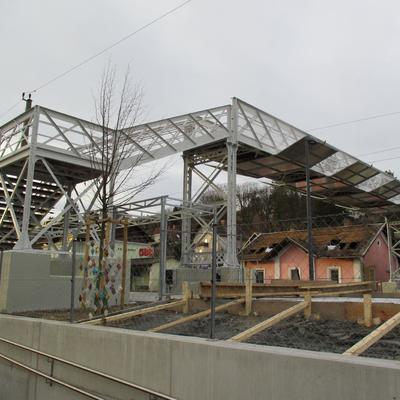 Uebergangssteg Kritzendorf 2017