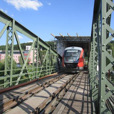 ÖBB Traunbrücke Wels 2015/2016